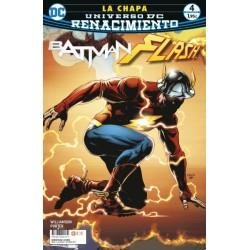 BATMAN/ FLASH: LA CHAPA NUM. 04 (DE 4) (RENACIMIENTO)