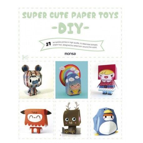SUPER CUTE PAPER TOYS -DIY-