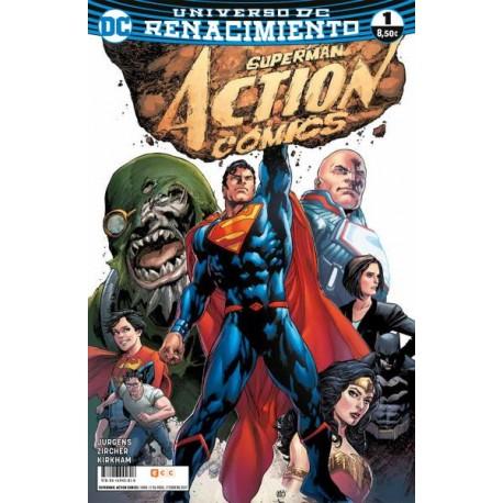 SUPERMAN: ACTION COMICS NUM. 01 (RENACIMIENTO)