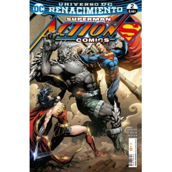 SUPERMAN: ACTION COMICS NUM. 02 (RENACIMIENTO)