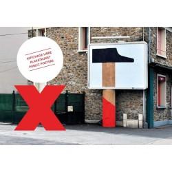 XO PUBLIC POSTERS AFFICHAGE LIBRE PLAKATKUNST