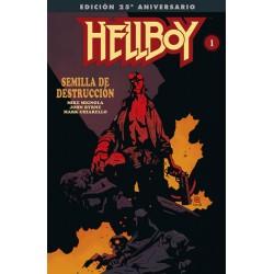 HELLBOY: SEMILLA DE DESTRUCCION EDICION GIGANTE ESPECIAL 25 ANIVERSARIO