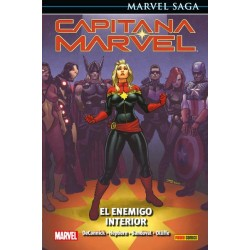 CAPITANA MARVEL. EL ENEMIGO INTERIOR (MARVEL SAGA)