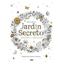 JARDIN SECRETO. EDICION PARA ARTISTAS