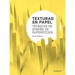 TEXTURAS EN PAPEL. TECNICAS DE DISEÑO DE SUPERFICIES