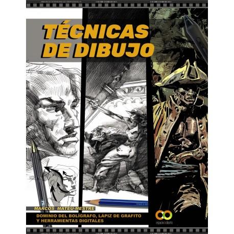 TECNICAS DE DIBUJO. DOMINIO DEL BOLIGRAFO, LAPIZ D