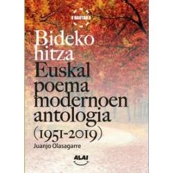 BIDEKO HITZA - EUSKAL POEMA MODERNOAREN ANTOLOGIA
