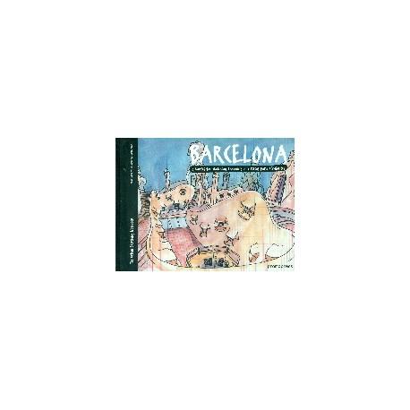 BARCELONA. 5 ROUTES FOR SKETCHING TRAVELLERS / 5 RUTAS PARA DIBUJANTES