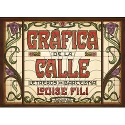 GRAFICA DE LA CALLE. LETREROS DE BARCELONA