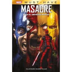 MARVEL MUST-HAVE. MASACRE MATA EL UNIVERSO MARVEL