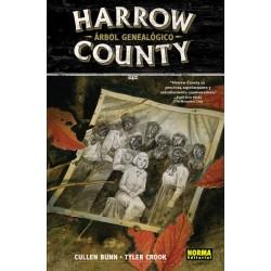 HARROW COUNTY 4. ARBOL GENEALOGICO