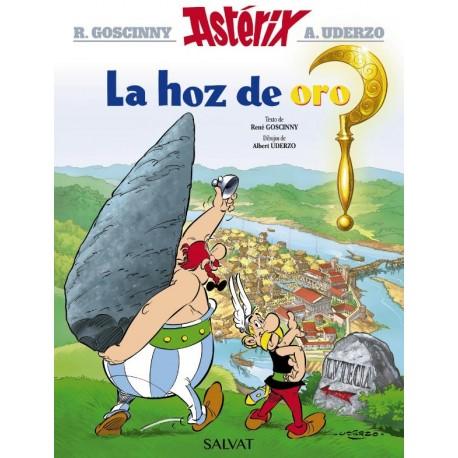 ASTERIX 02: LA HOZ DE ORO