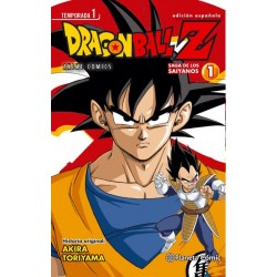 DRAGON BALL Z ANIME SERIES SAIYANOS Nº 01/05