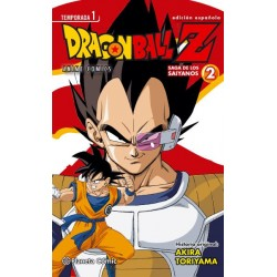 DRAGON BALL Z ANIME SERIES SAIYANOS Nº 02/05