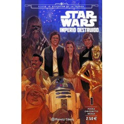 STAR WARS IMPERIO DESTRUIDO Nº 01