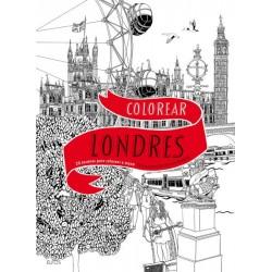 COLOREAR LONDRES. 20 ESCENAS PARA COLOREAR A MANO