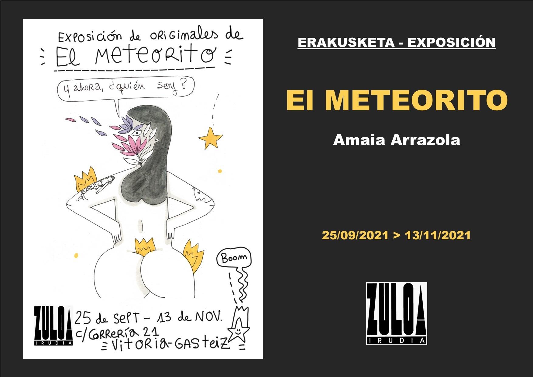 Exposición de originales de El Meteorito