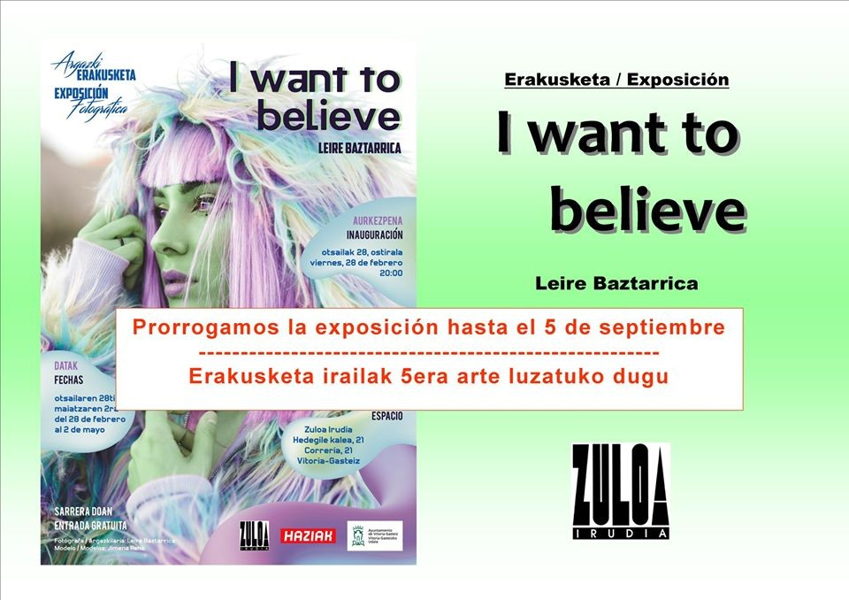 Exposición I want to belive