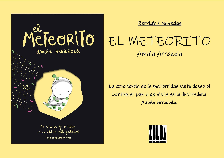 Meteorito Amaia Arrazola