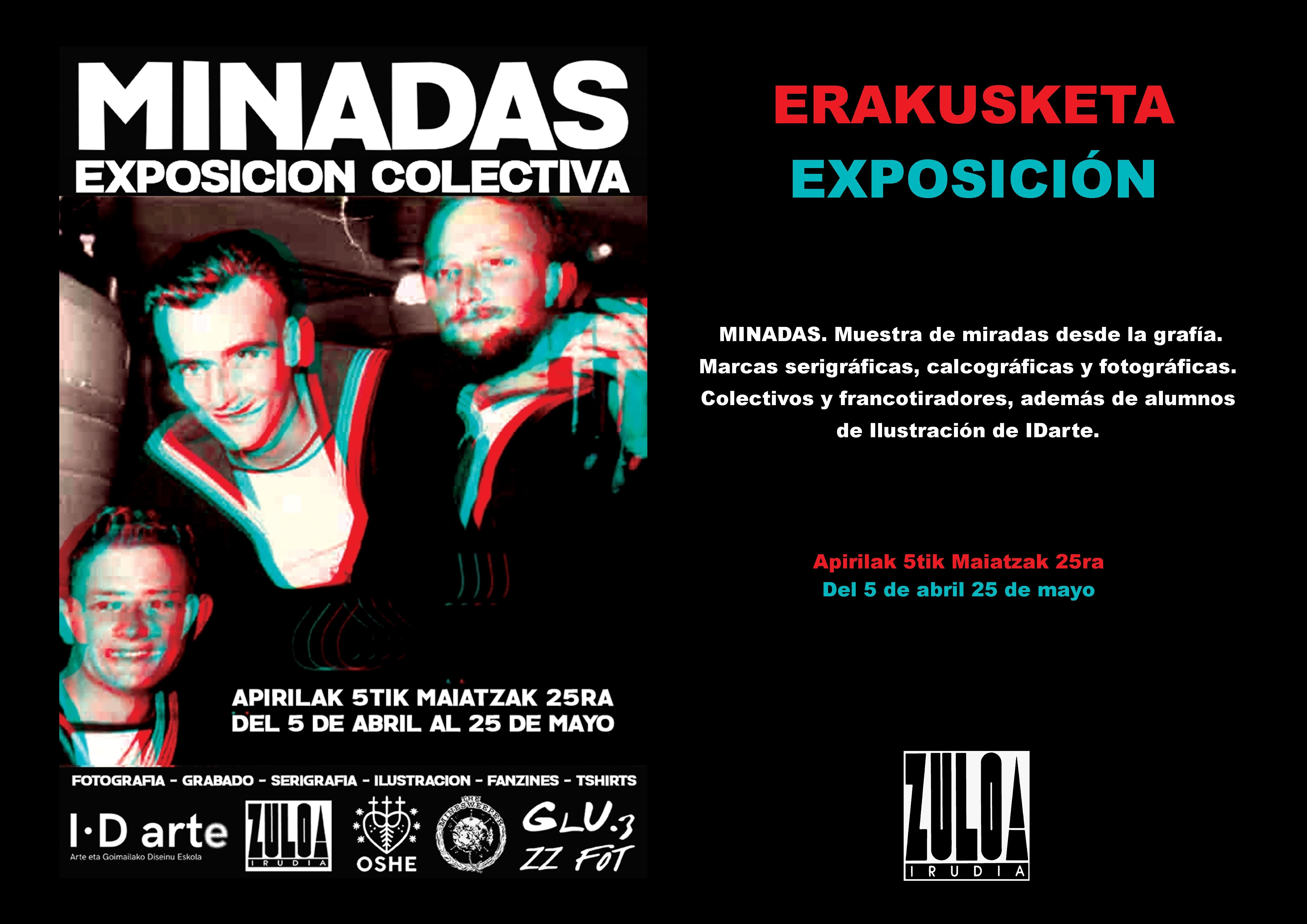 MINADAS Exposición Colectiva