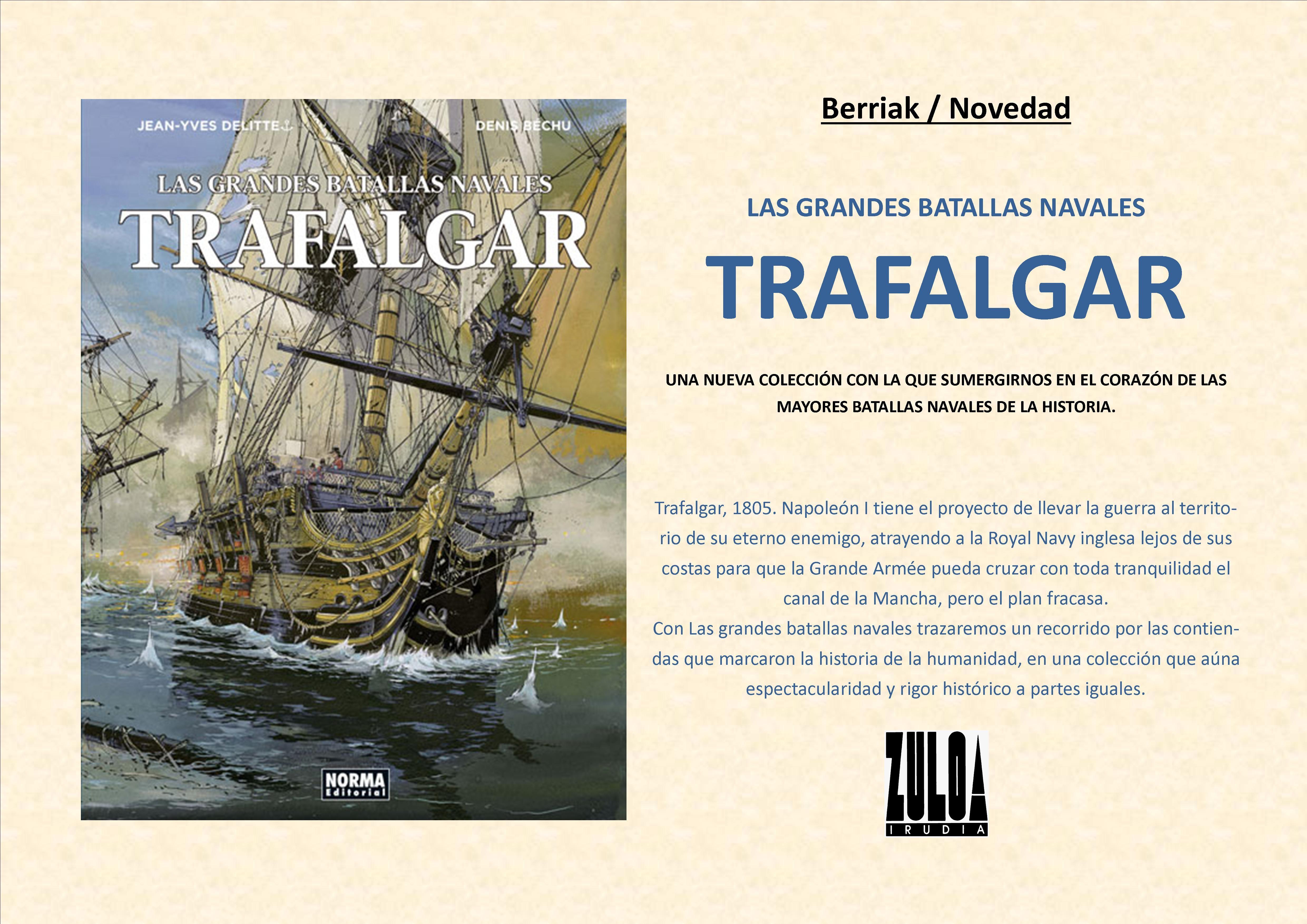 Trafalgar, comic